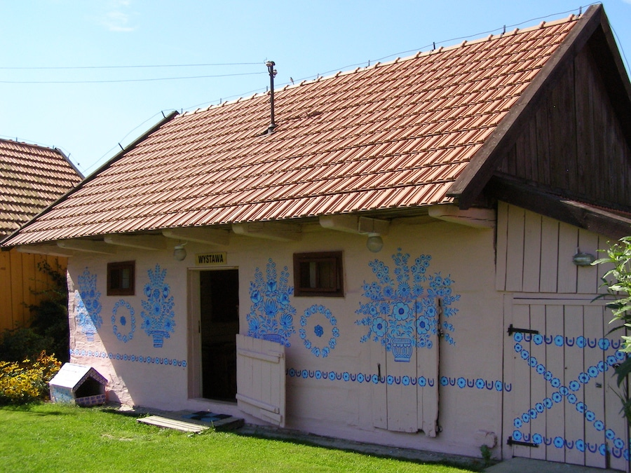 zalipie poland painted village folk art