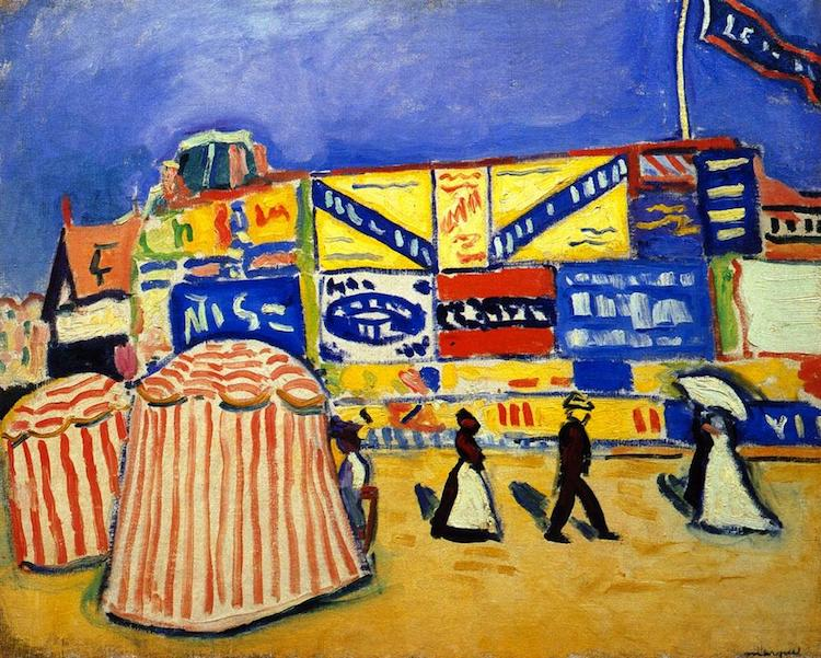 Albert Marquet - Posters at Trouville
