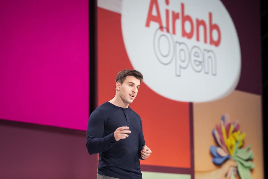 brian chesky trump immigration ban refugee crisis