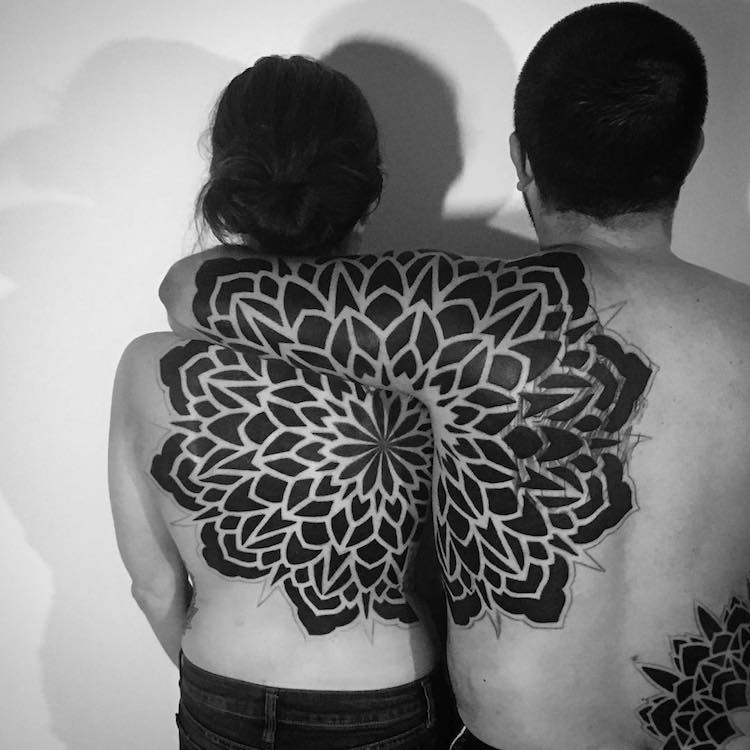 Geometric Tattoos Cover the Body in Mesmerizing Mandala ...