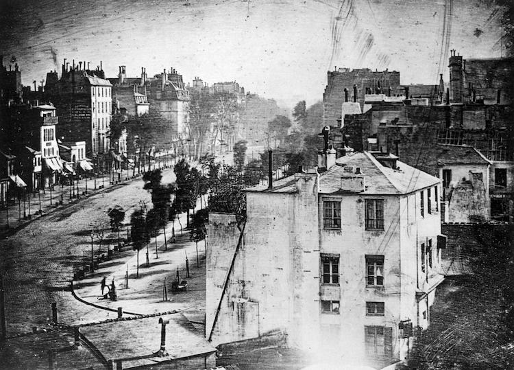 oldest paris photo Louis Daguerre