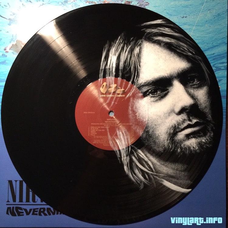 daniel edlen vinyl art kurt cobain