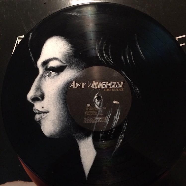 daniel edlen vinyl art amy winehouse