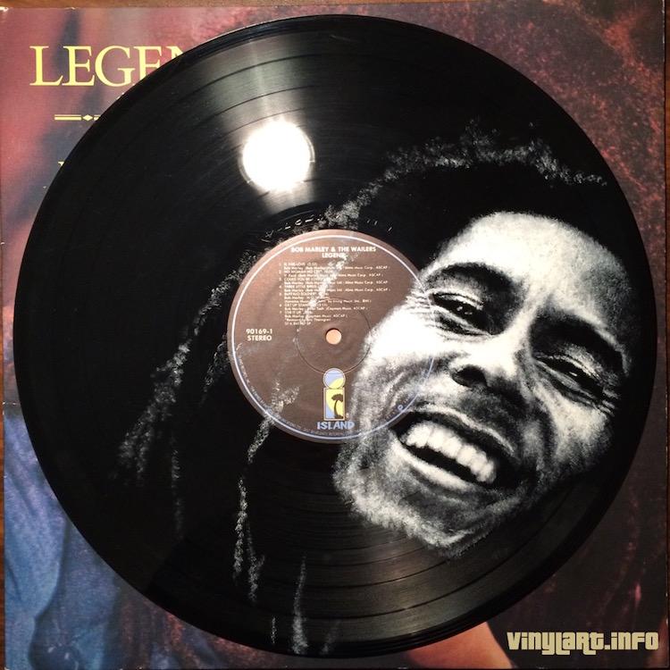 daniel edlen vinyl art bob marley
