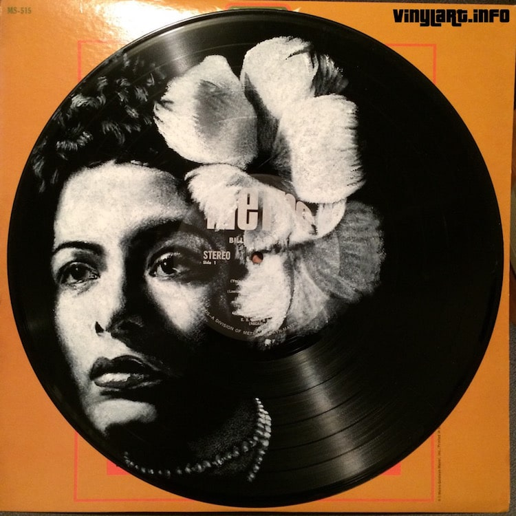 daniel edlen vinyl art billie holiday