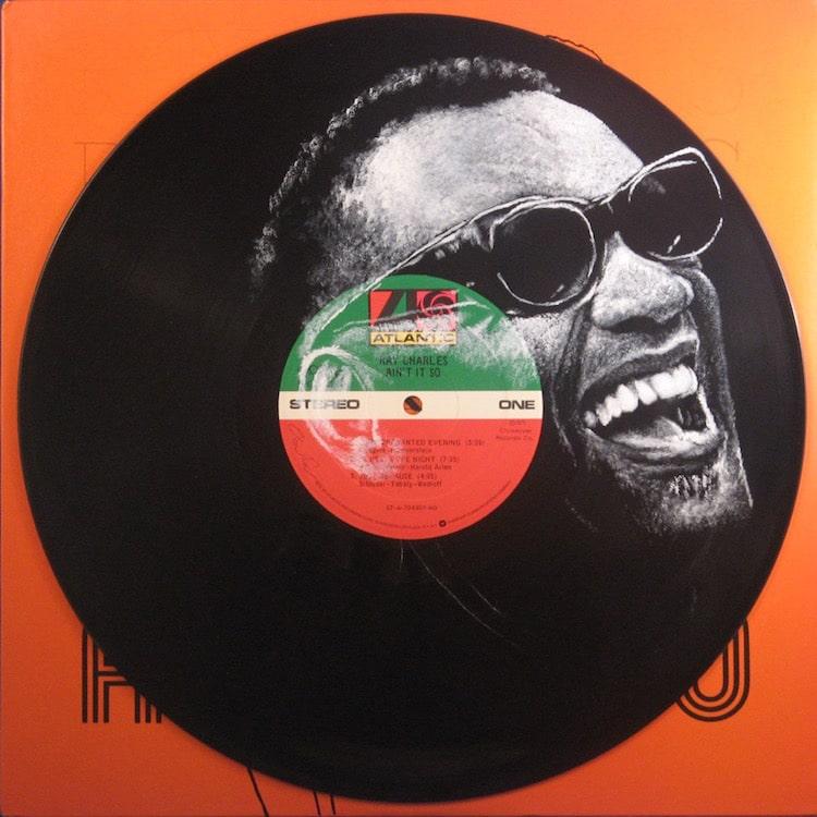 daniel edlen vinyl art ray charles