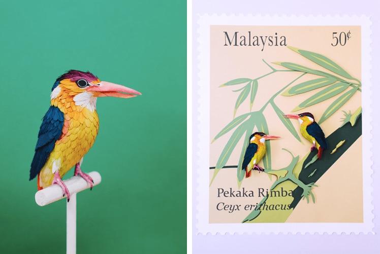 Diana Beltran Herrera Brings Birds to Life Through Her Paper Art