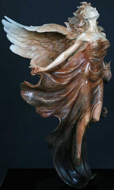 gaylord ho limited edition lyrical sculpture sculptor parian