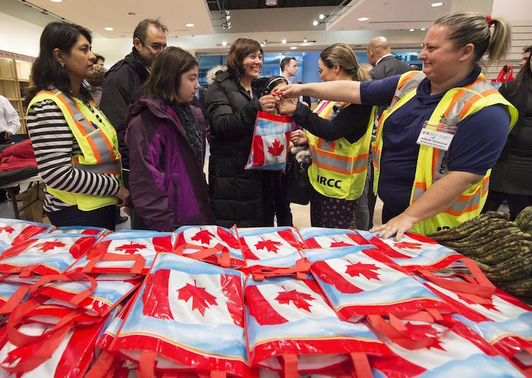 justin trudeau Welcome to Canada immigrants refugees