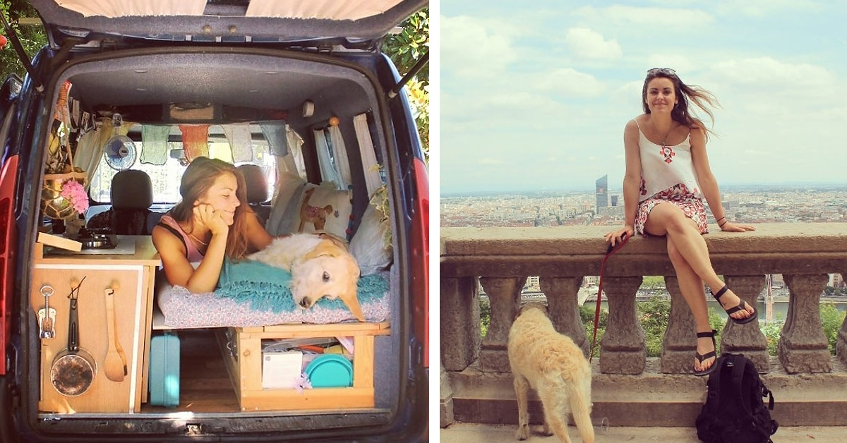 Woman Completes Old Van Restoration To Travel The World