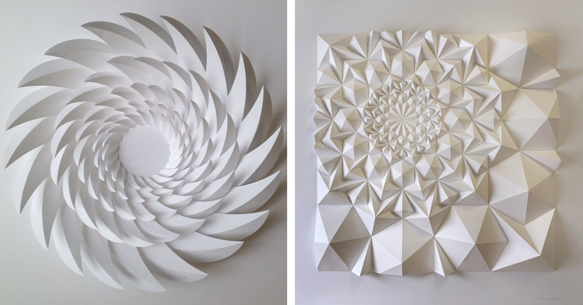 Paper Engineering Produces Mesmerizing Geometric Sculptures