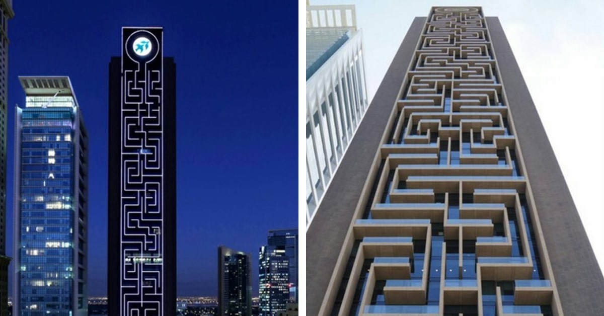 Police Led Lights >> World's Largest Vertical Maze Illuminated with Thousands ...