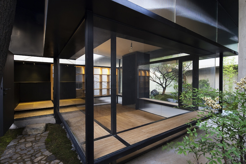 Modern chinese tea house is classic yet contemporary for Modern japanese tea house design