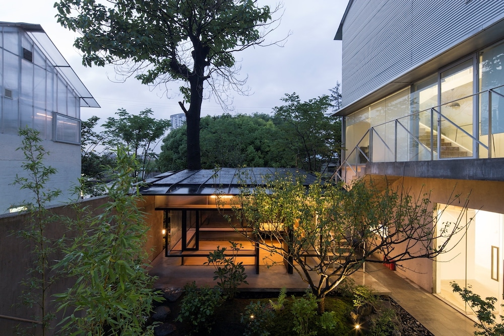 modern chinese tea house architecture atelier deshaus