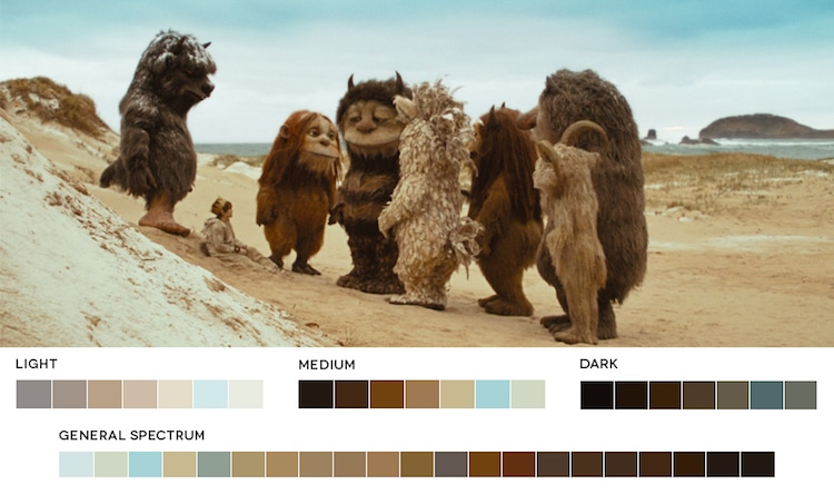 Movies in Color Break Popular Films Down into Color Palettes