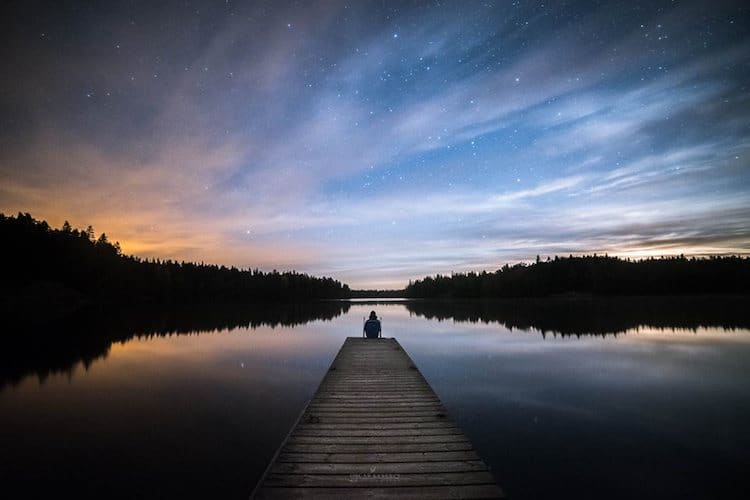 Starry Nights in Finland by Oscar Keserci