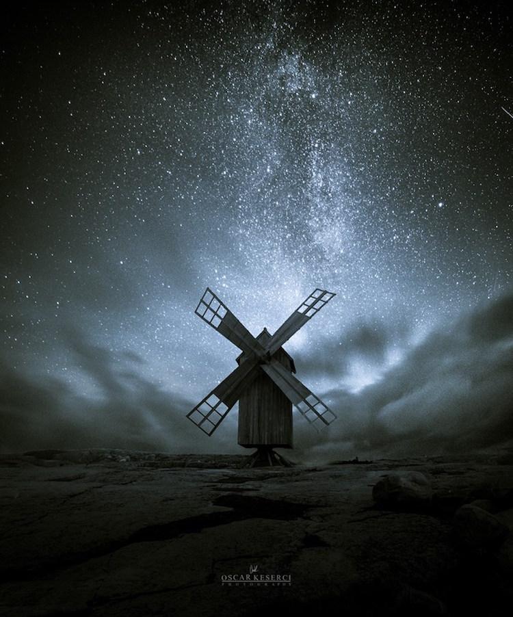 Starry Nights in Finland by Oscar Keserci