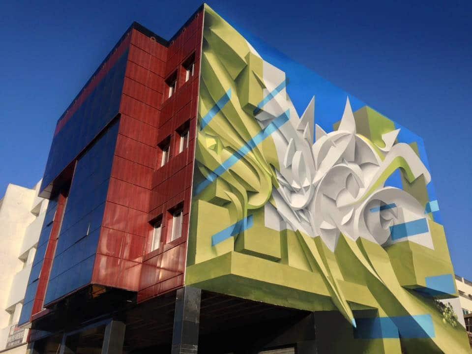 peeta 3d graffiti art