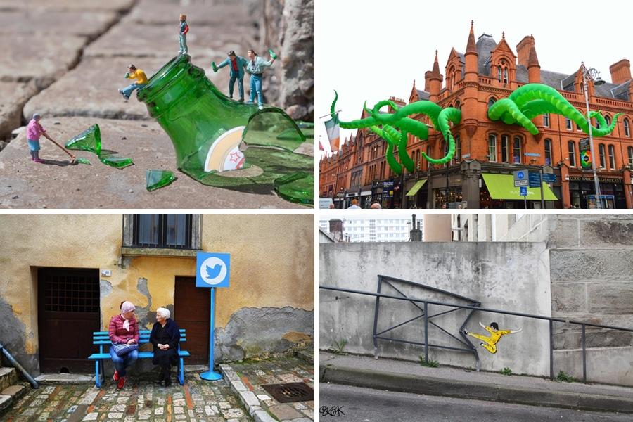 playful urban art