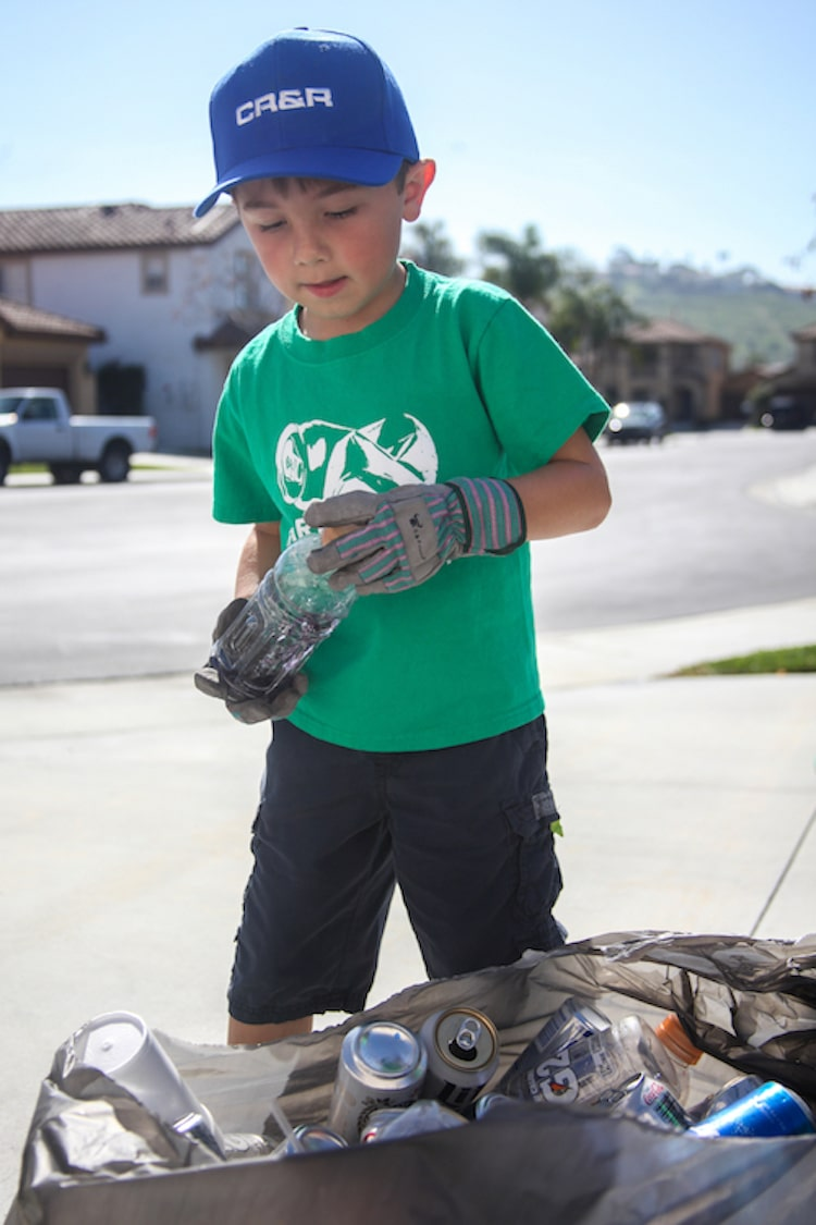 7-Year-Old Boy Starts Recycling Company