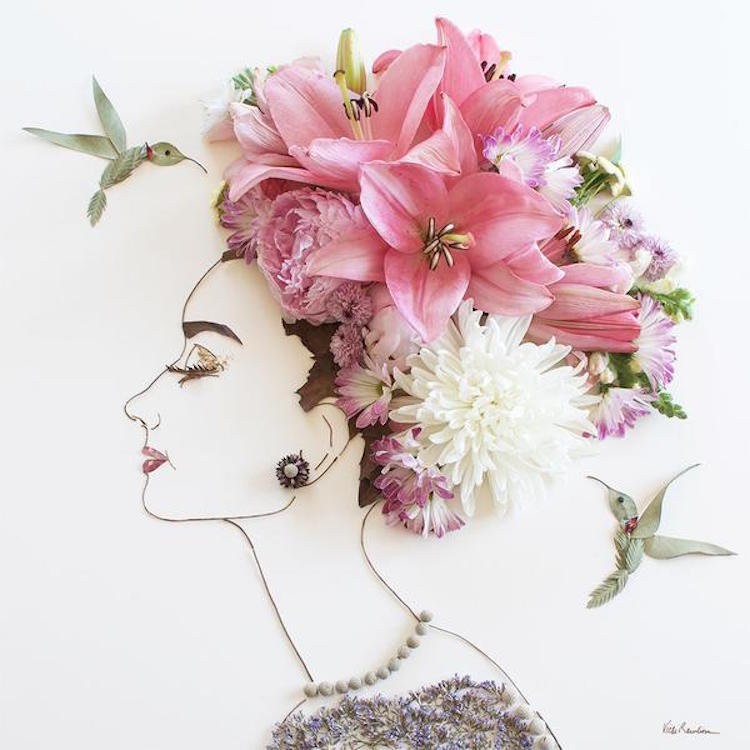Floral art illustrations by sister golden featuring flowers, plants, and nature.