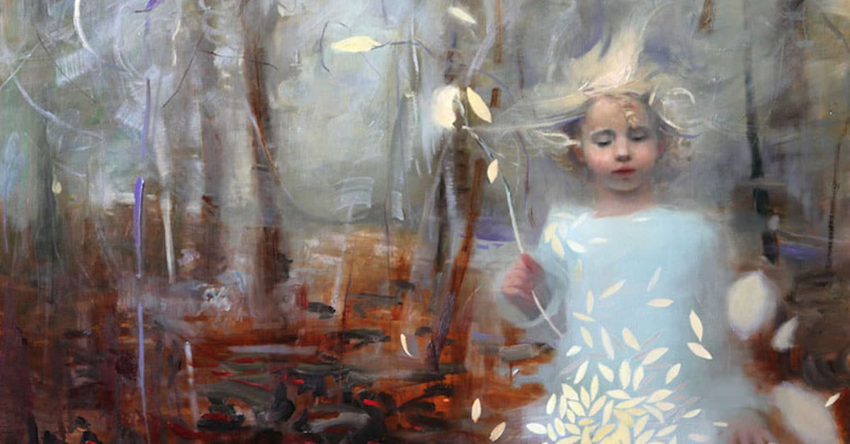 ethereal oil paintings present the diverse beauty of women