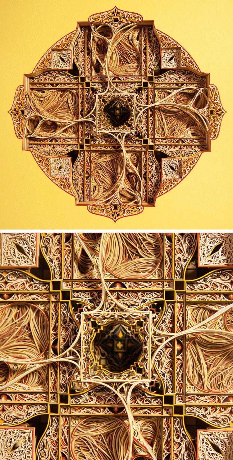 Stunning Works of Paper Art