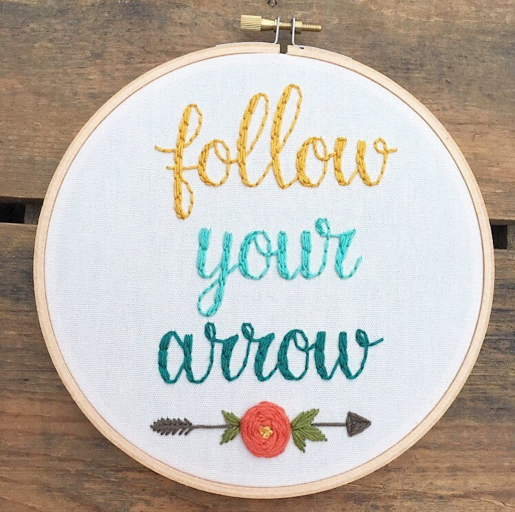 Uplifting Embroidery to Brighten Your Day
