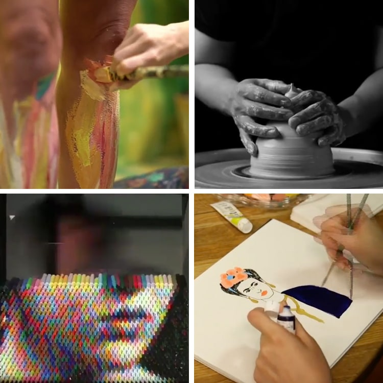 Artist Videos Reveal a Behind-the-Scenes Look into the Artistic Process