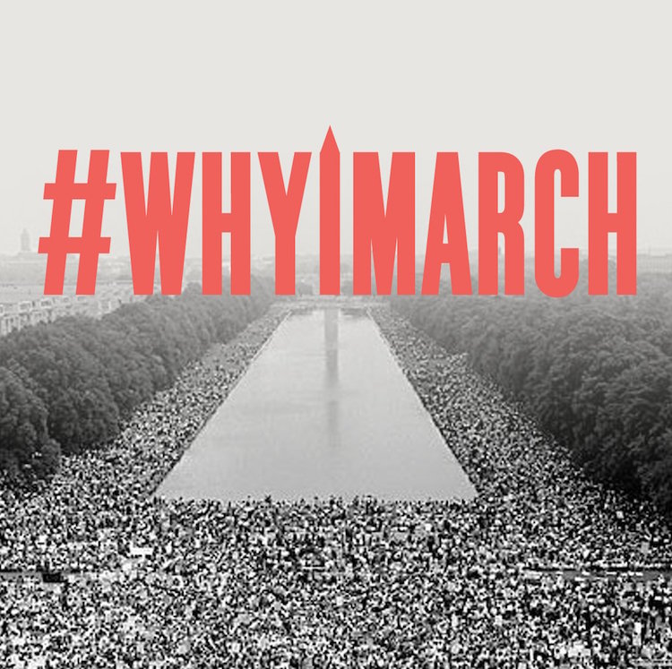 whyIMArch women's march