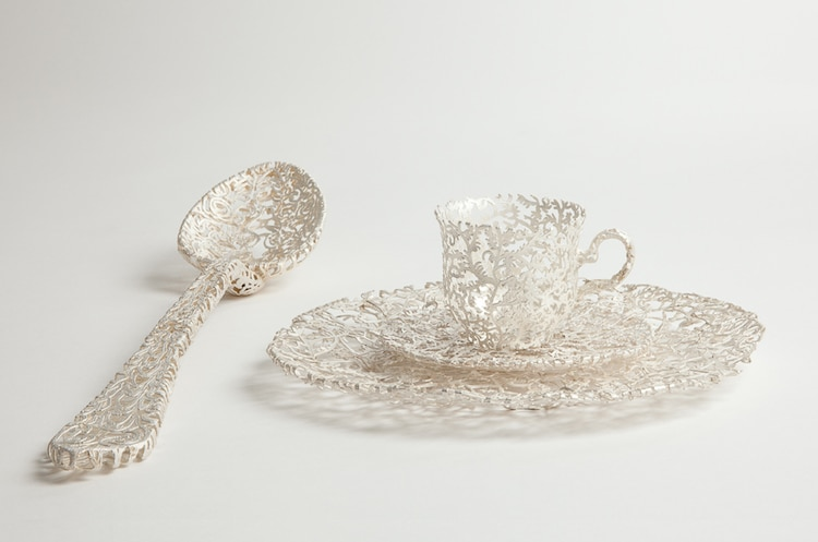 Wiebke Meurer 18th-century tableware redesigned