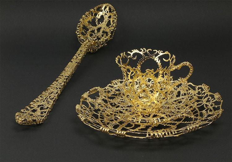 Wiebke Meurer 18th century tableware redesigned
