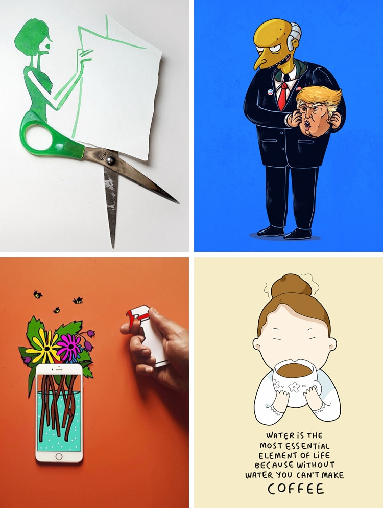 Witty illustrators