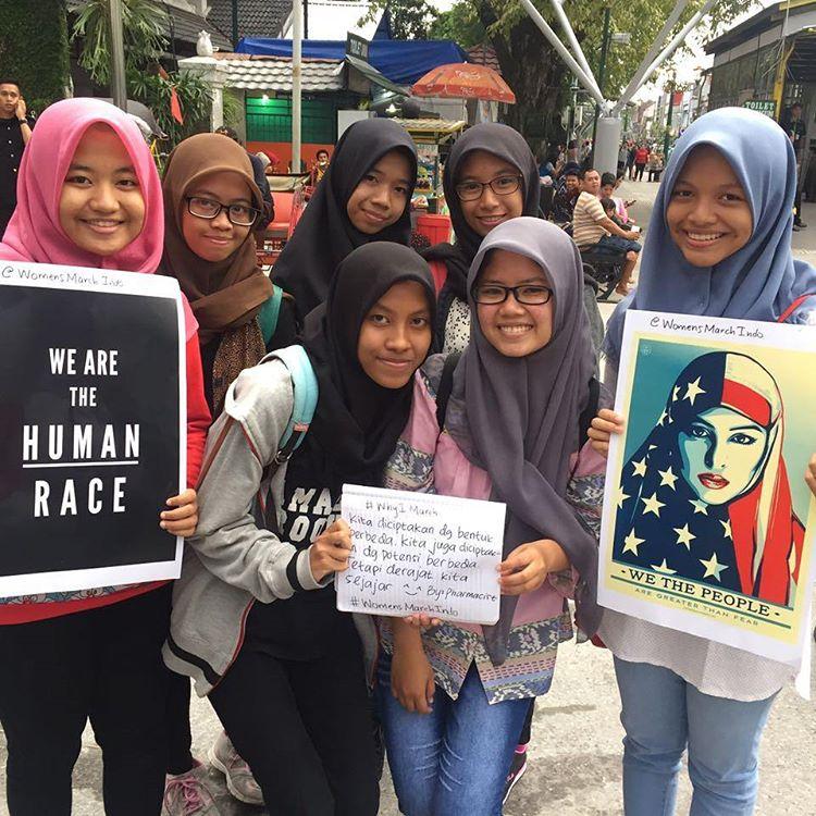 global women's march sister march london