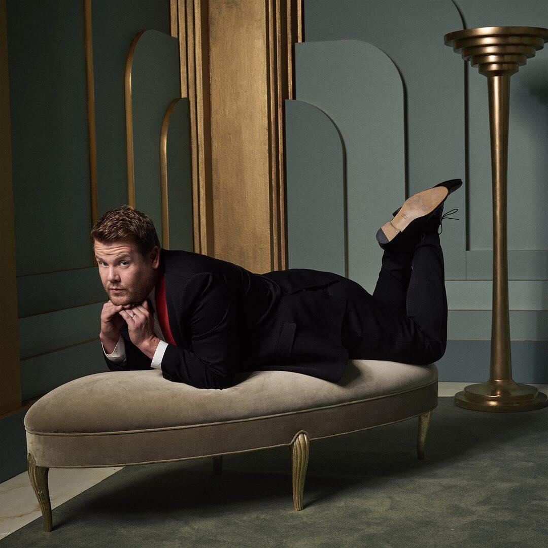 James Corden at the 2017 Vanity Fair Oscar Party Portraits