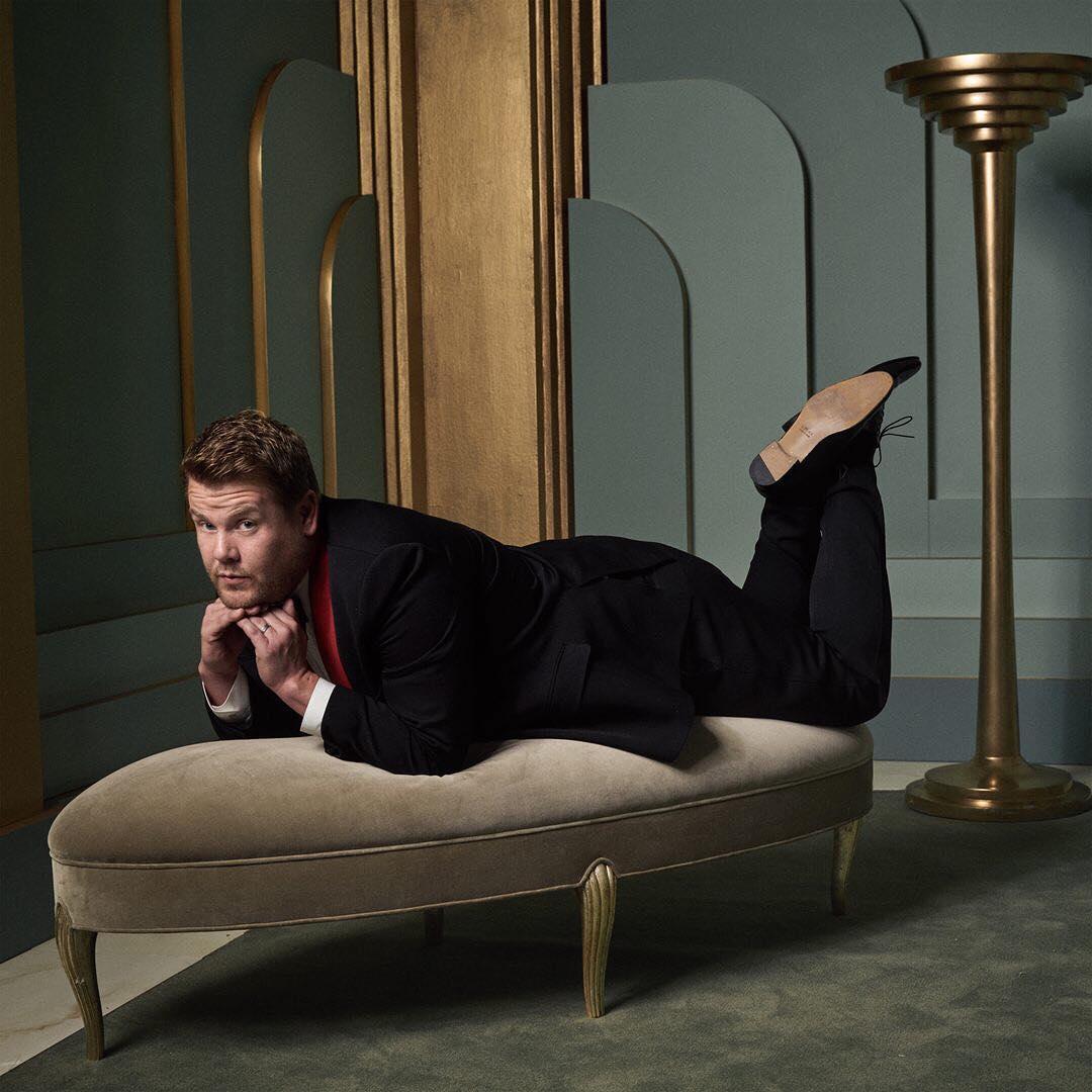 James Corden at the 2017 Vanity Fair Oscar Party Portraits