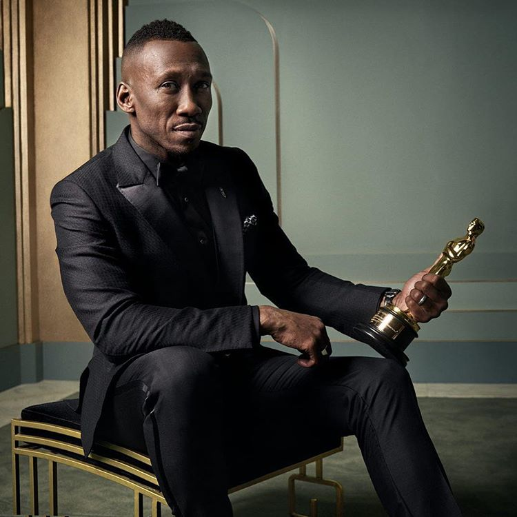 Mahershala Ali at the 2017 Vanity Fair Oscar Party Portraits