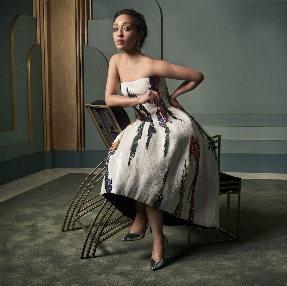 Ruth Negga at the 2017 Vanity Fair Oscar Party Portraits
