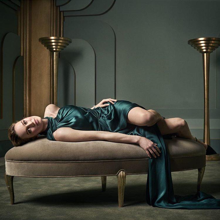 Brie Larson at the 2017 Vanity Fair Oscar Party Portraits