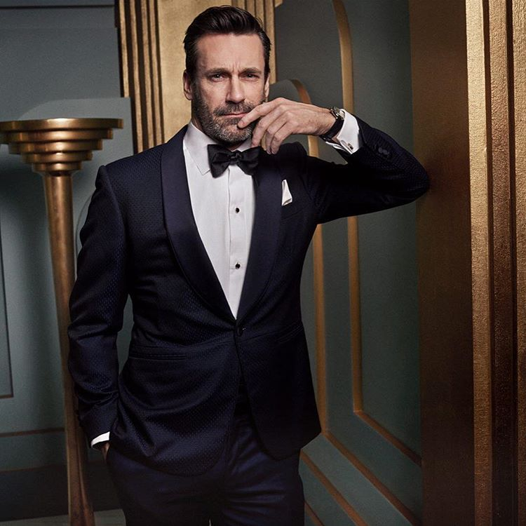 Jon Hamm at the 2017 Vanity Fair Oscar Party Portraits