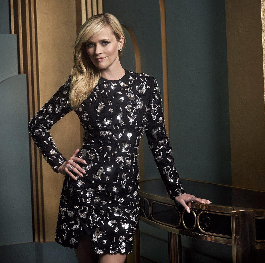 Reese Witherspoon at the 2017 Vanity Fair Oscar Party Portraits