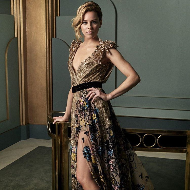 Elizabeth Banks at the 2017 Vanity Fair Oscar Party Portraits