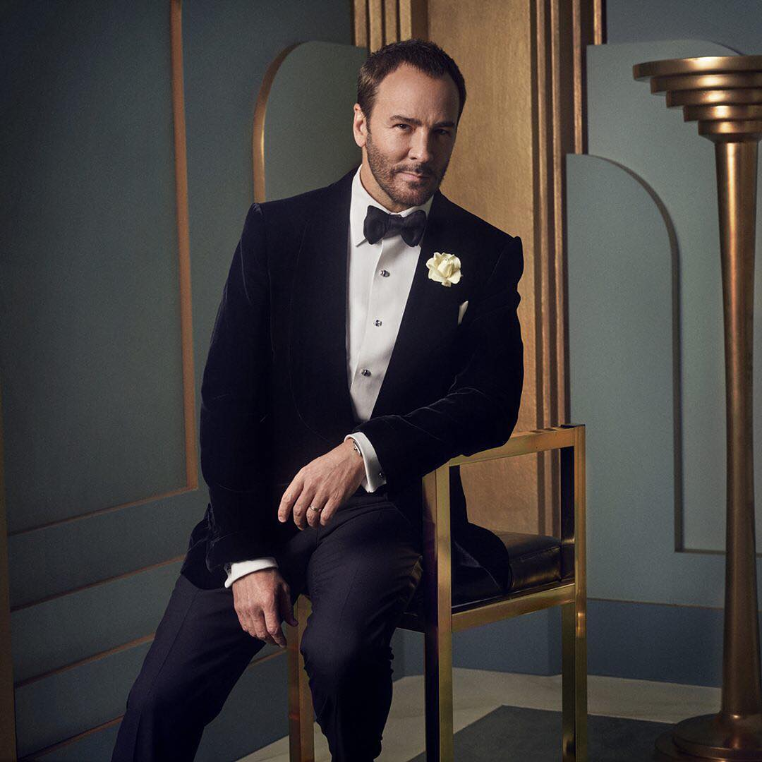 Tom Ford at the 2017 Vanity Fair Oscar Party Portraits