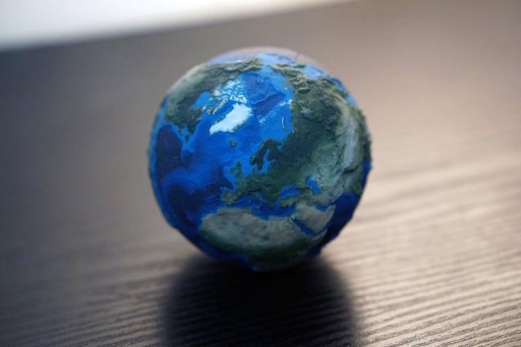 3D printing planetary models