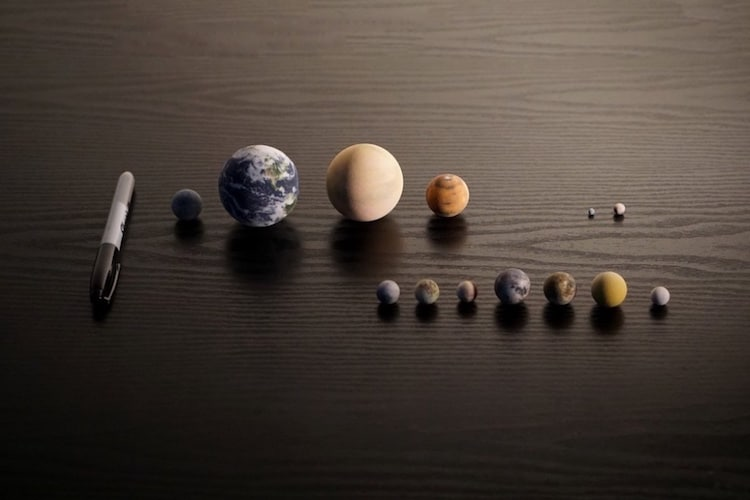 planets size scale model - photo #24