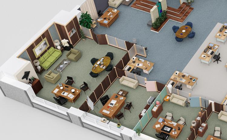 3d office floor plan. Tv Floor Plans 3d Office Plan T