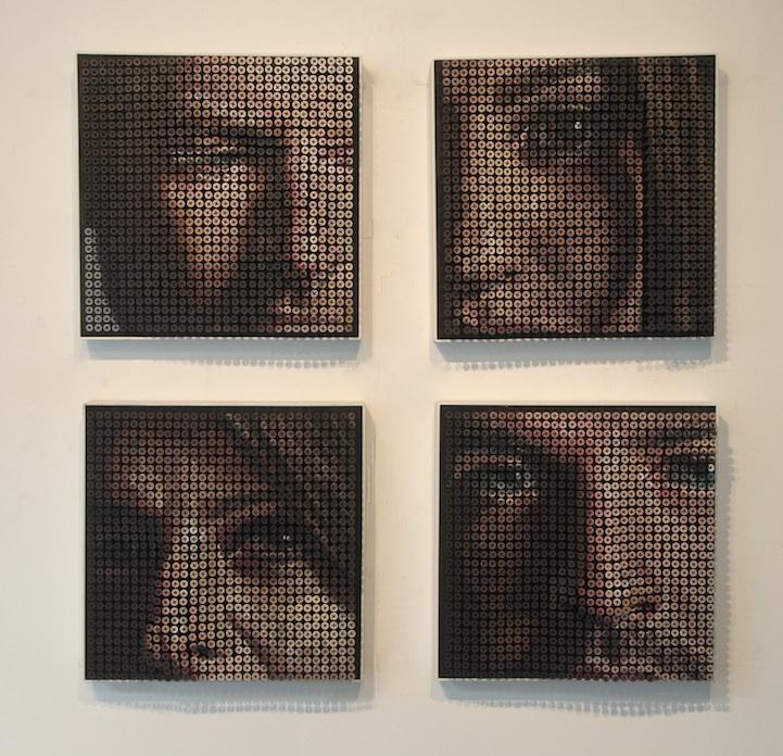 Andrew Meyers innovative art made of screws