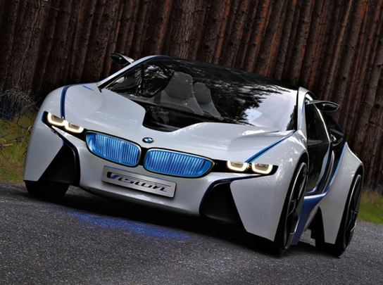 Bmw Just Released These Images Of The Vision Efficientdynamics Concept Which Will Be Unveiled At Frankfurt Motor Show In A Weeks