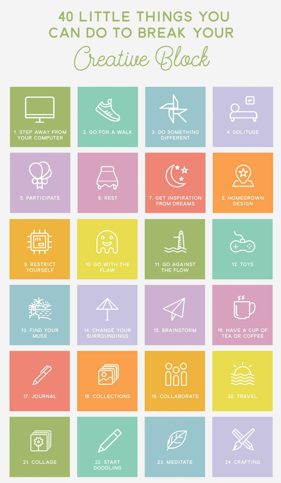 Cool Infographic for Creatives
