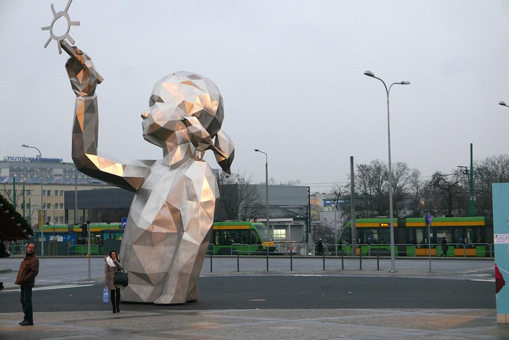 David Mesguich Geometric Sculptures street art